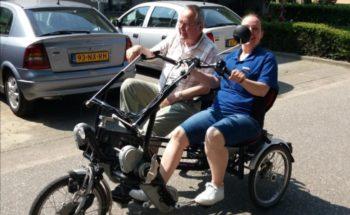 Ton op de fiets, dat was uniek!