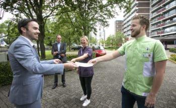 Bedankje van gemeente 's-Hertogenbosch